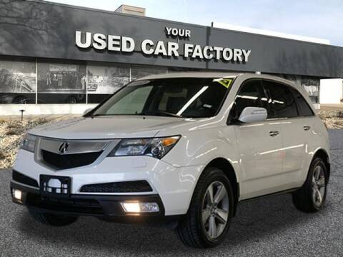 2012 Acura MDX for sale at JOELSCARZ.COM in Flushing MI