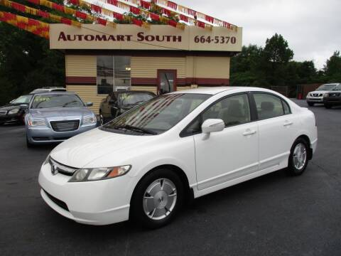 2008 Honda Civic for sale at Automart South in Alabaster AL