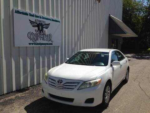 2010 Toyota Camry for sale at Team Knipmeyer in Beardstown IL