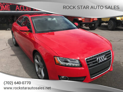 2012 Audi A5 for sale at Rock Star Auto Sales in Las Vegas NV