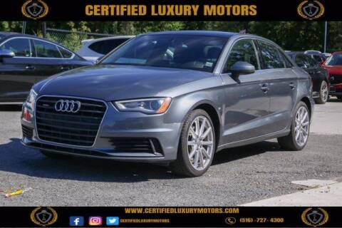2016 Audi A3 for sale at Certified Luxury Motors in Great Neck NY