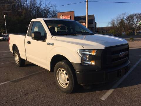 2016 Ford F-150 for sale at Borderline Auto Sales in Loveland OH