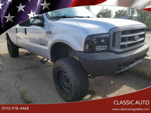 2000 Ford F-250 Super Duty for sale at Classic Auto in Greeley CO