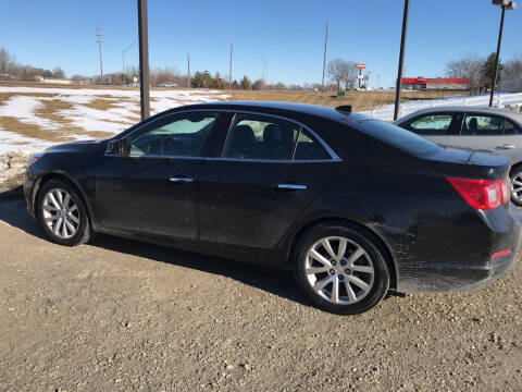 2013 Chevrolet Malibu for sale at Lannys Autos in Winterset IA
