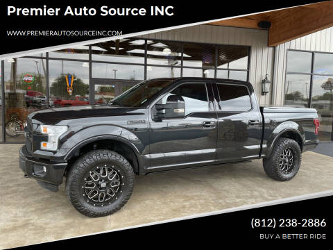 2015 Ford F-150 for sale at Premier Auto Source INC in Terre Haute IN