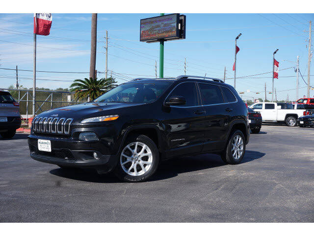 2015 Jeep Cherokee for sale at Maroney Auto Sales in Humble TX