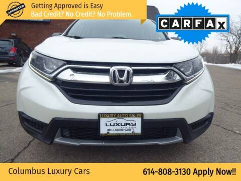 2017 Honda CR-V for sale at Columbus Luxury Cars in Columbus OH