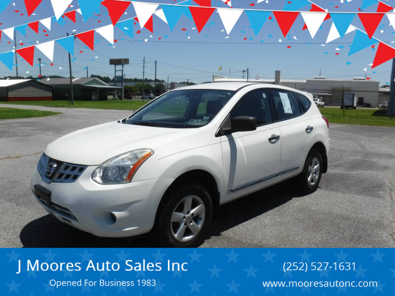 2012 Nissan Rogue for sale at J Moores Auto Sales Inc in Kinston NC
