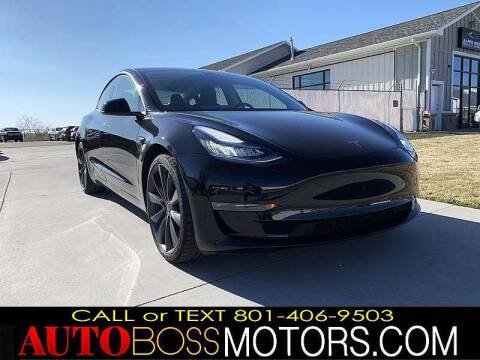 2020 Tesla Model 3 for sale at Auto Boss in Woodscross UT