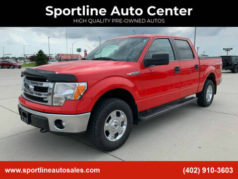 2014 Ford F-150 for sale at Sportline Auto Center in Columbus NE