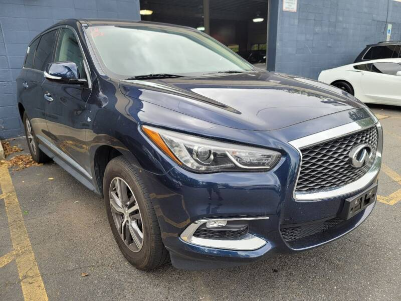2018 Infiniti QX60 for sale at AW Auto & Truck Wholesalers  Inc. in Hasbrouck Heights NJ
