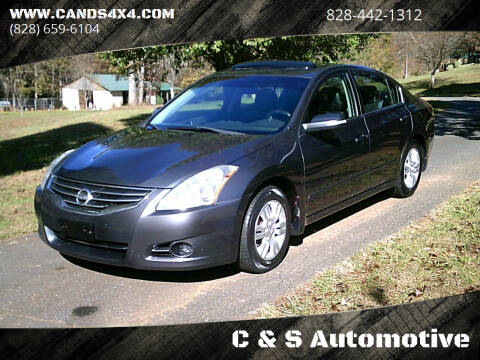 2012 Nissan Altima for sale at C & S Automotive in Nebo NC