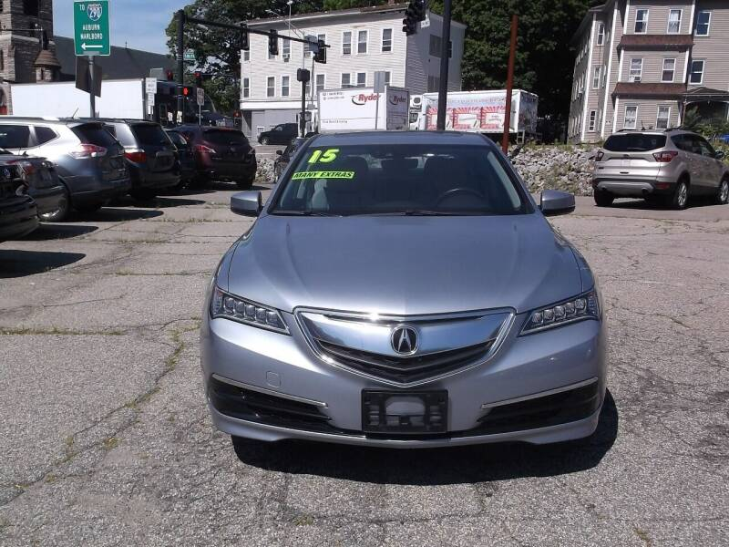 2015 Acura TLX for sale at Sharp Auto Center in Worcester MA