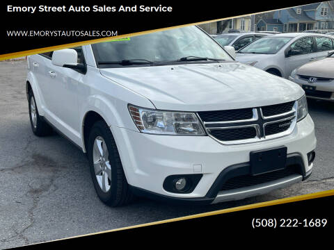 2012 Dodge Journey for sale at Emory Street Auto Sales and Service in Attleboro MA