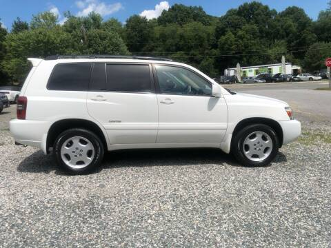 2007 Toyota Highlander for sale at Venable & Son Auto Sales in Walnut Cove NC