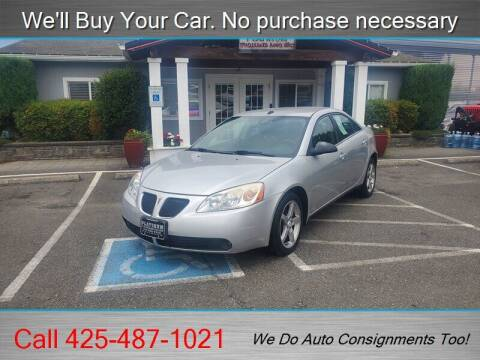 2009 Pontiac G6 for sale at Platinum Autos in Woodinville WA