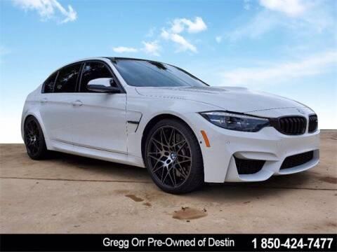 2018 BMW M3 for sale at Gregg Orr Pre-Owned of Destin in Destin FL