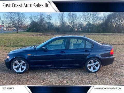 2004 BMW 3 Series for sale at East Coast Auto Sales llc in Virginia Beach VA