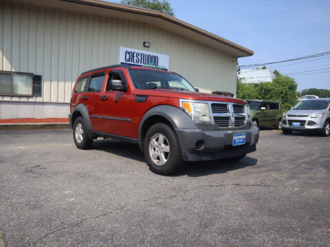 2007 Dodge Nitro for sale at Crestwood Auto Sales in Swansea MA