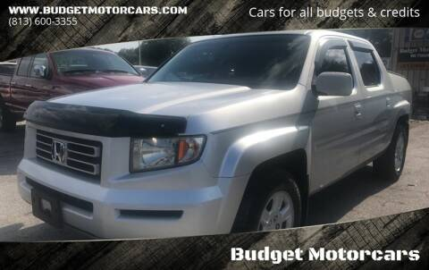 2006 Honda Ridgeline for sale at Budget Motorcars in Tampa FL