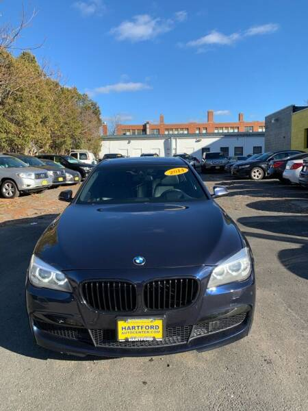 2014 BMW 7 Series for sale at Hartford Auto Center in Hartford CT