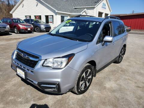 2017 Subaru Forester for sale at Evia Auto Sales Inc. in Glens Falls NY