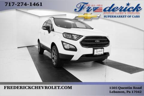 2018 Ford EcoSport for sale at Lancaster Pre-Owned in Lancaster PA