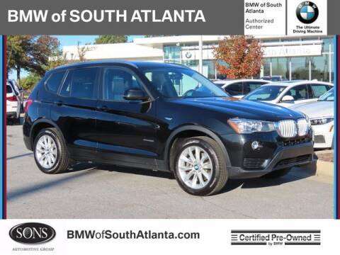 2017 BMW X3 for sale at Carol Benner @ BMW of South Atlanta in Union City GA