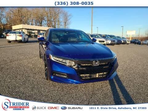 2018 Honda Accord for sale at STRIDER BUICK GMC SUBARU in Asheboro NC