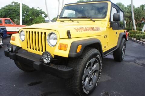 2004 Jeep Wrangler for sale at Dream Machines USA in Lantana FL
