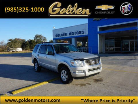2010 Ford Explorer for sale at GOLDEN MOTORS in Cut Off LA