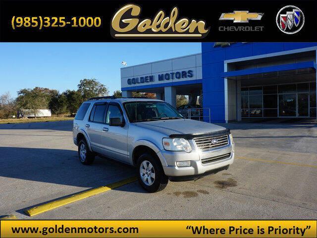 2010 Ford Explorer for sale at GOLDEN MOTORS in Cut Off LA