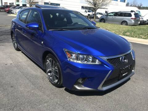 2014 Lexus CT 200h for sale at Dotcom Auto in Chantilly VA
