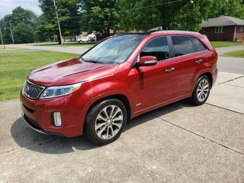 2014 Kia Sorento for sale at Motorsports Motors LLC in Youngstown OH