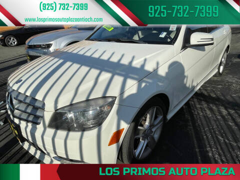 2011 Mercedes-Benz C-Class for sale at Los Primos Auto Plaza in Antioch CA