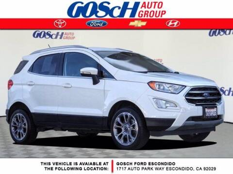 2018 Ford EcoSport for sale at BILLY D SELLS CARS! in Temecula CA