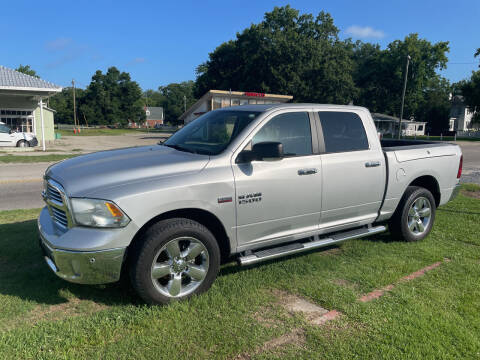 2016 RAM Ram Pickup 1500 for sale at LAURINBURG AUTO SALES in Laurinburg NC