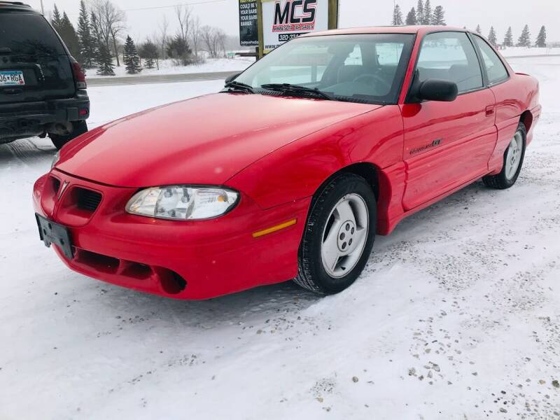 1998 Pontiac Grand Am for sale at MINNESOTA CAR SALES in Starbuck MN