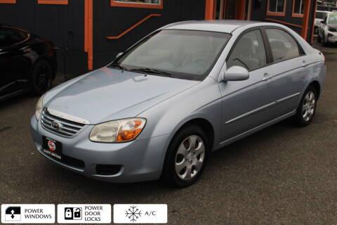 2007 Kia Spectra for sale at Sabeti Motors in Tacoma WA