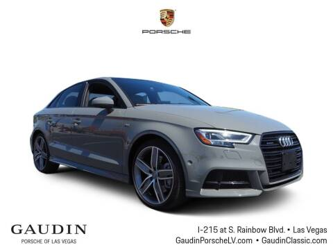 2020 Audi A3 for sale at Gaudin Porsche in Las Vegas NV