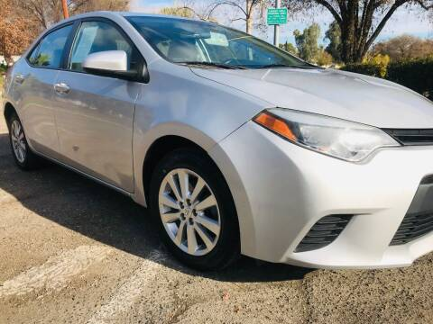 2014 Toyota Corolla for sale at CAR PLUS in Modesto CA