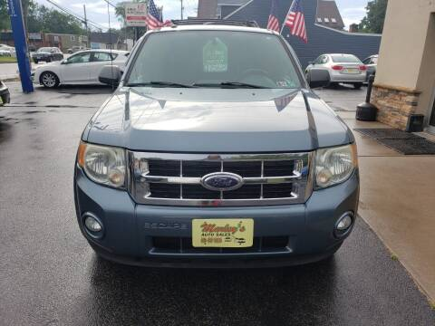 2010 Ford Escape for sale at Marley's Auto Sales in Pasadena MD