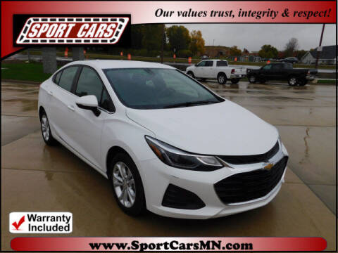 2019 Chevrolet Cruze for sale at SPORT CARS in Norwood MN