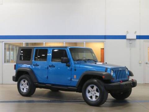 2010 Jeep Wrangler Unlimited for sale at Terry Lee Hyundai in Noblesville IN