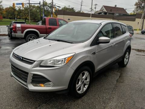 2016 Ford Escape for sale at Richland Motors in Cleveland OH