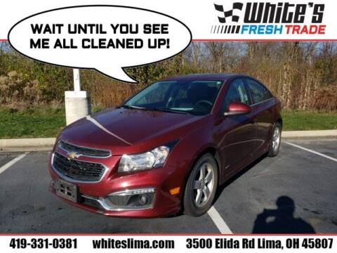 2016 Chevrolet Cruze Limited for sale at White's Honda Toyota of Lima in Lima OH