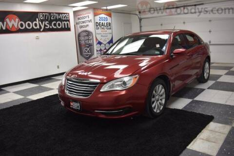 2013 Chrysler 200 for sale at WOODY'S AUTOMOTIVE GROUP in Chillicothe MO