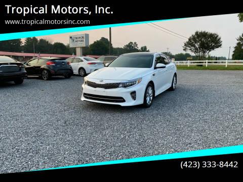 2018 Kia Optima for sale at Tropical Motors, Inc. in Riceville TN