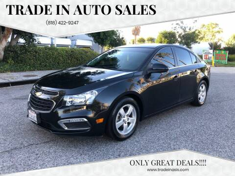 2015 Chevrolet Cruze for sale at Trade In Auto Sales in Van Nuys CA