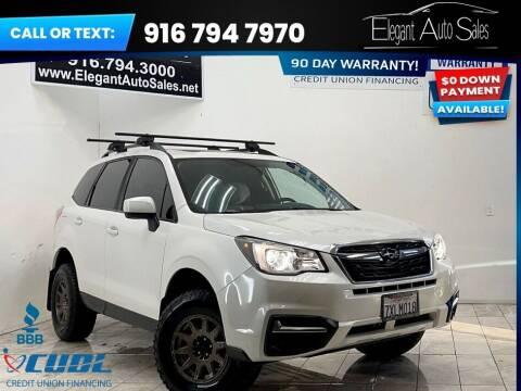2017 Subaru Forester for sale at Elegant Auto Sales in Rancho Cordova CA